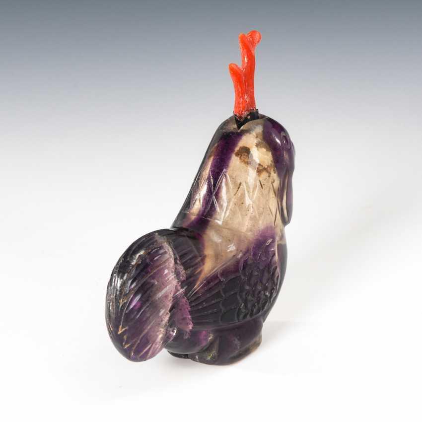 Snuffbottle in Form eines Hahns - Ameth - photo 3