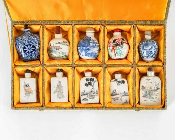 10 large medicine bottles-Snuffbottles. - photo 1