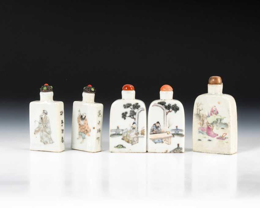 10 large medicine bottles-Snuffbottles. - photo 2