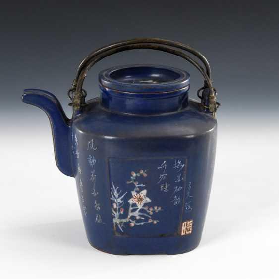 Blue Teapot. - photo 1