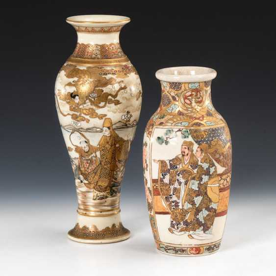 2 Satsuma-Vasen. - Foto 1