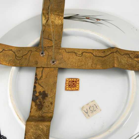 Very elaborately painted plate with Pers - photo 3