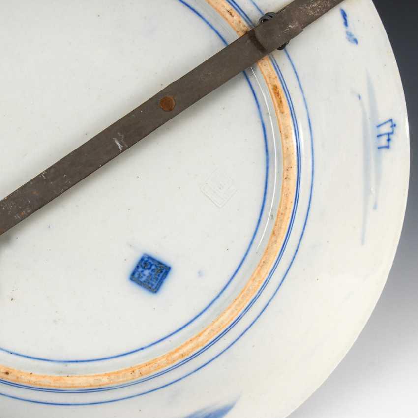 2 Japanese porcelain plates - photo 3