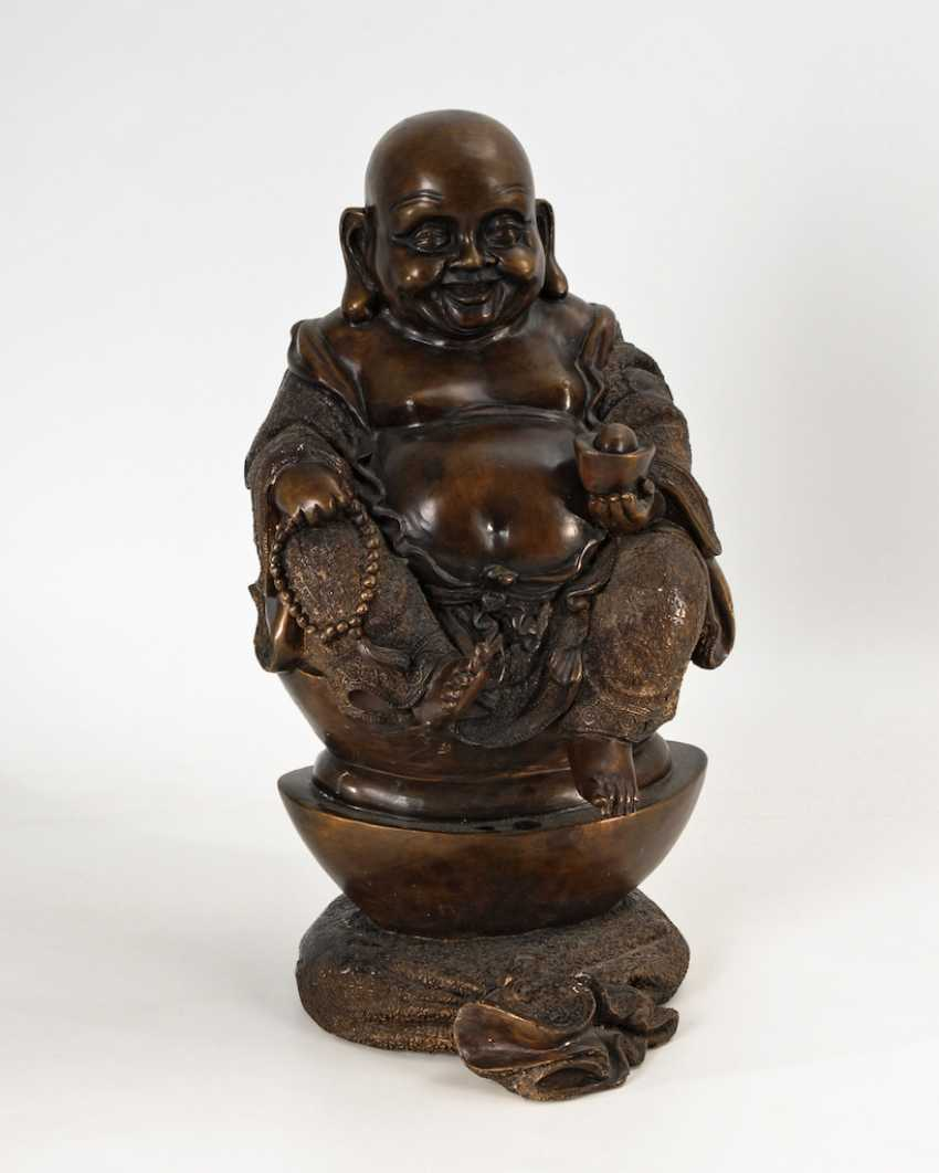 Large Hotei - God of contentment. - photo 1