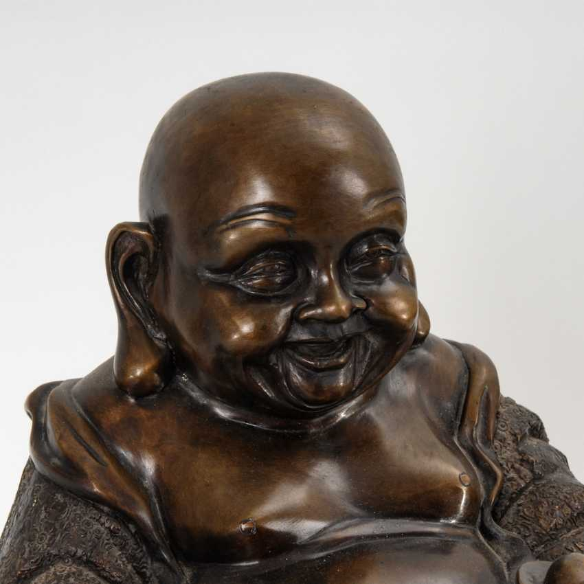 Large Hotei - God of contentment. - photo 2