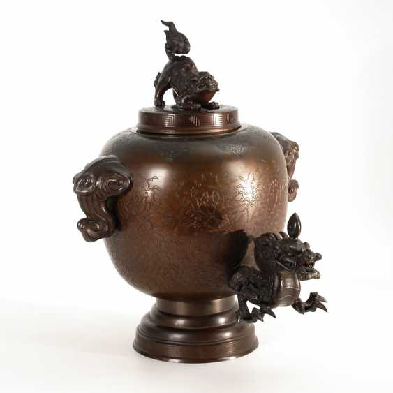 Water dispenser with dragon spout. - photo 1