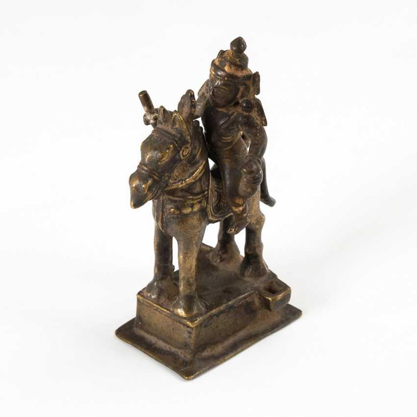 Reiterfigur - Bronze. - photo 2