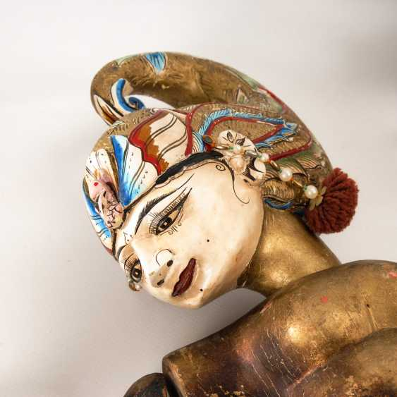 3 Wayang Golek - Stab-Marionetten. - photo 2