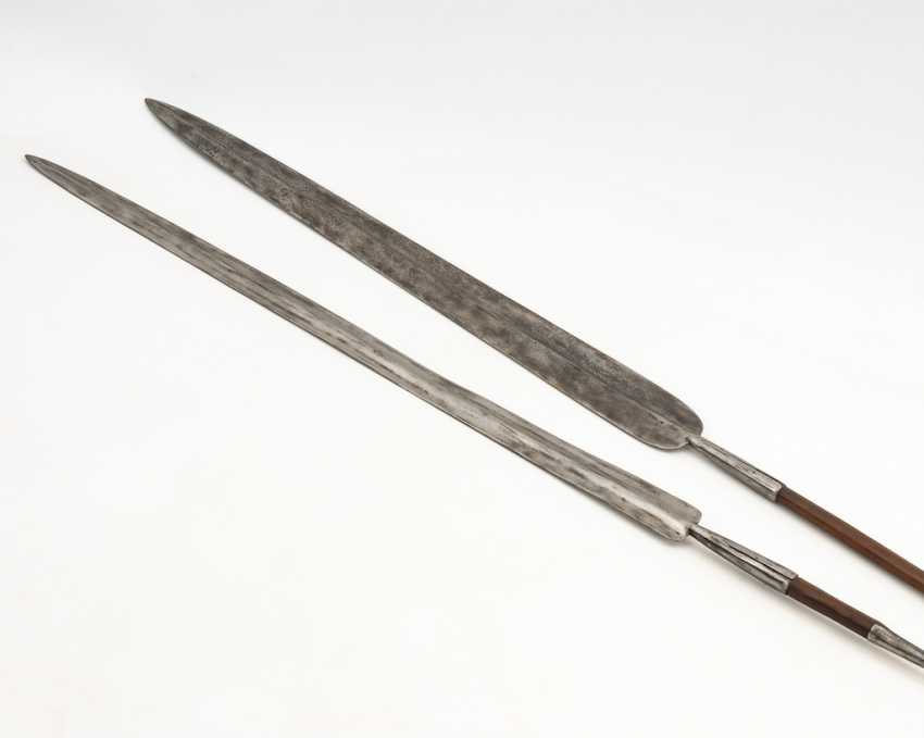 2 large spears. - photo 1