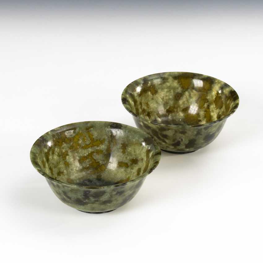 2 cups of Jade-nephrite. - photo 1