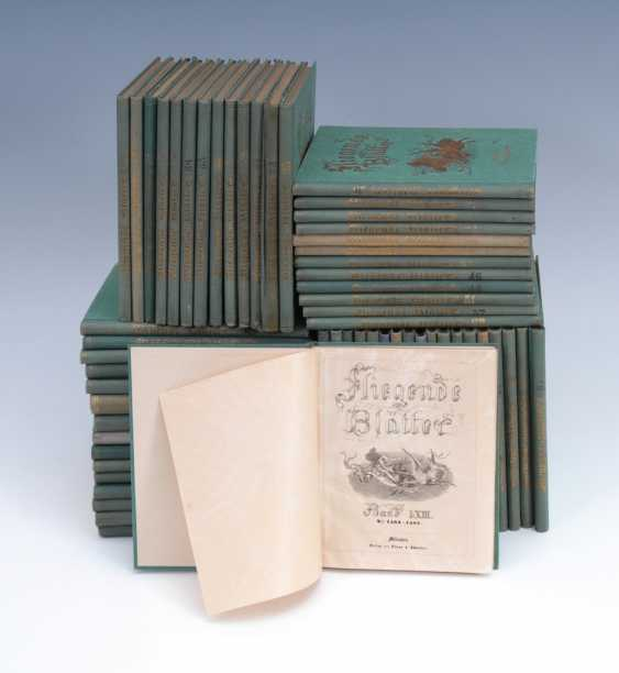 "59 Volumes Of ""Flying Leaves"". - photo 1"