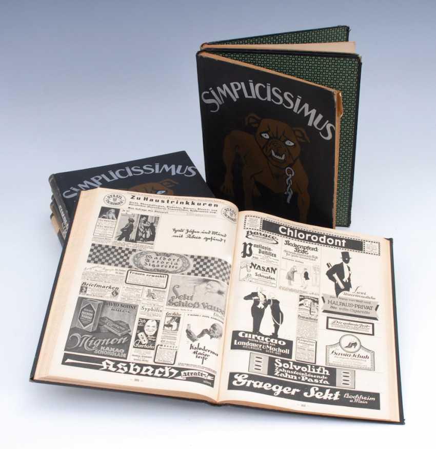 """8x """"Simplicissimus"""". - photo 1"""