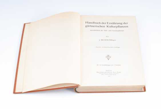 "Becker-Dillingen, J.: ""Handbook of Ren - photo 1"