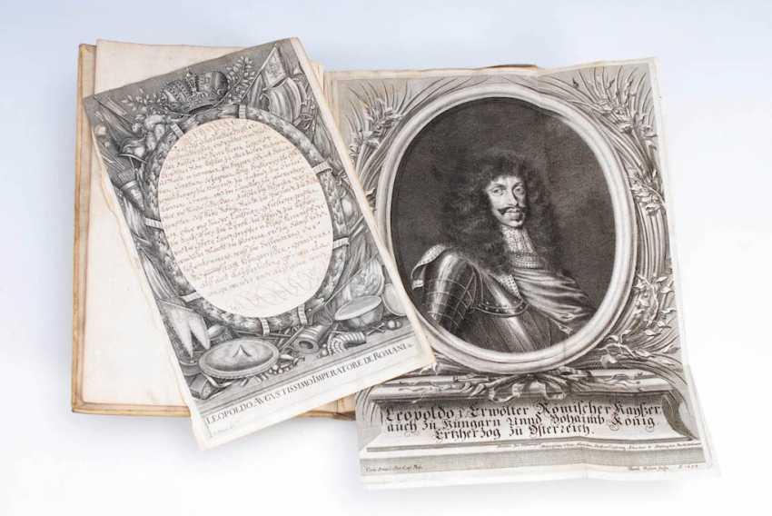 Haushaltsbuch Kaiser Leopold I. - photo 1