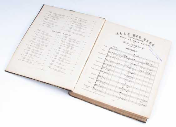 """Mozart-Partitur """"Cosi fan tutte"""". - photo 1"""