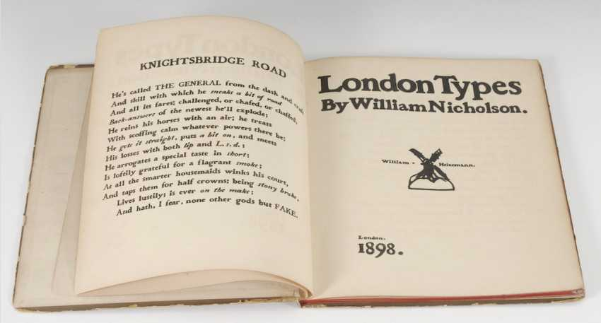 "Nicholson, William: ""London Types"". - Foto 2"