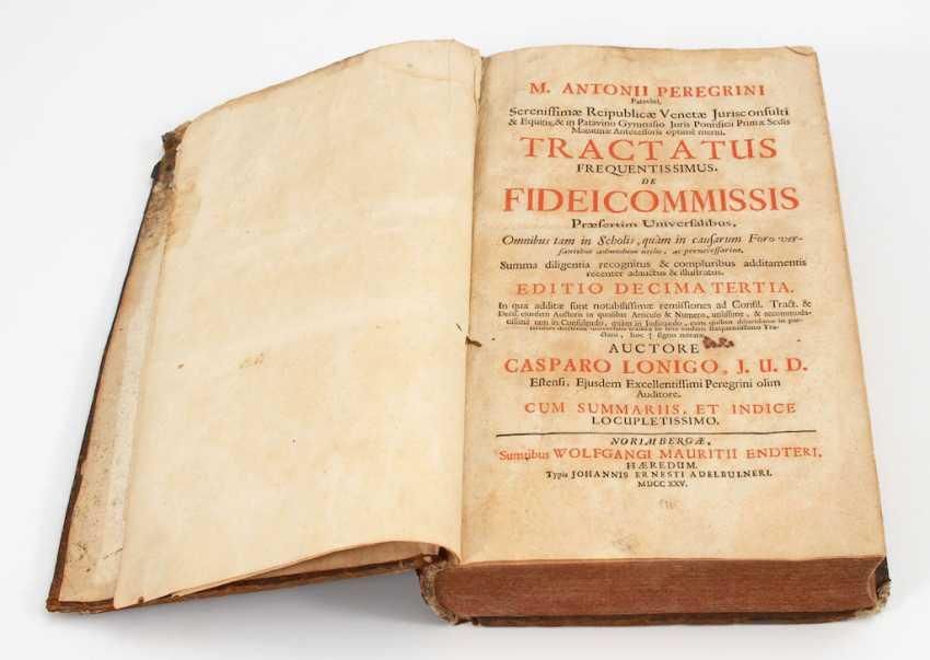 """Peregrini, Antonii: """"Tractatus Frequent - photo 1"""