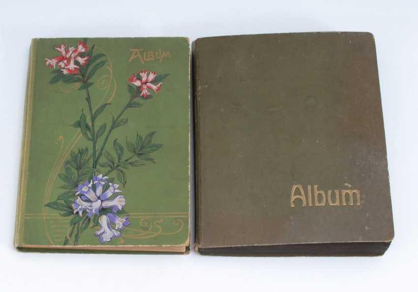 2x Postkartenalbum, zusammen ca. 308 An - Foto 2