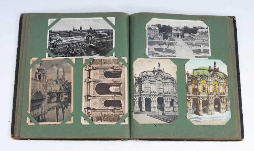 Postkartenalbum mit ca. 96 Ansichtskart - Foto 1