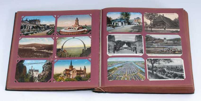Post card album with approx. 1000 cards. - photo 1