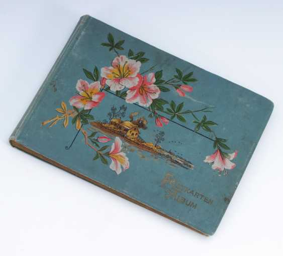 Postcard album with approximately 200 Ansichtskar - photo 2