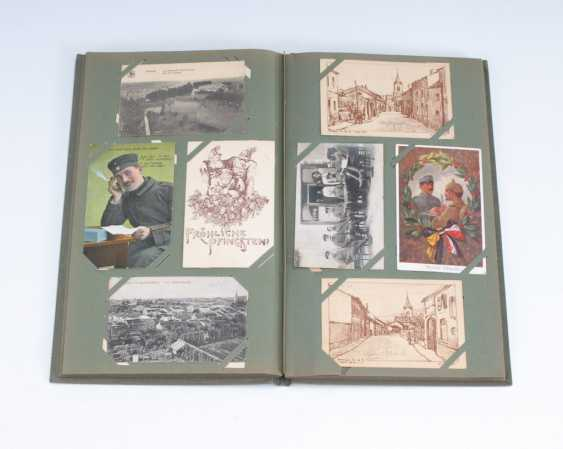 Post card album of approximately 200 cards, I. - photo 1
