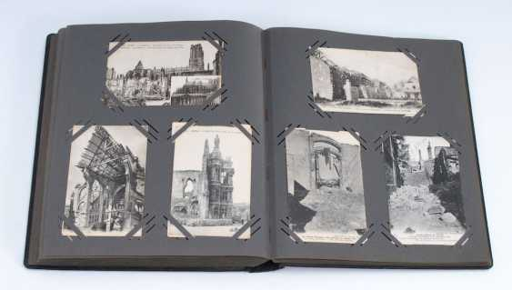 Postcard album with approx 300 cards. - photo 1