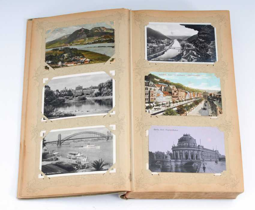 Post card album with approx. 348 Ansichtskar - photo 1