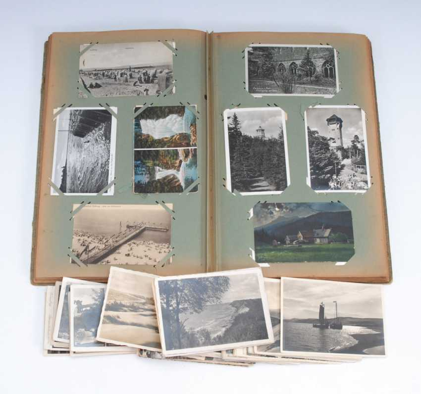 Post card album with approx. 390 Ansichtskar - photo 1