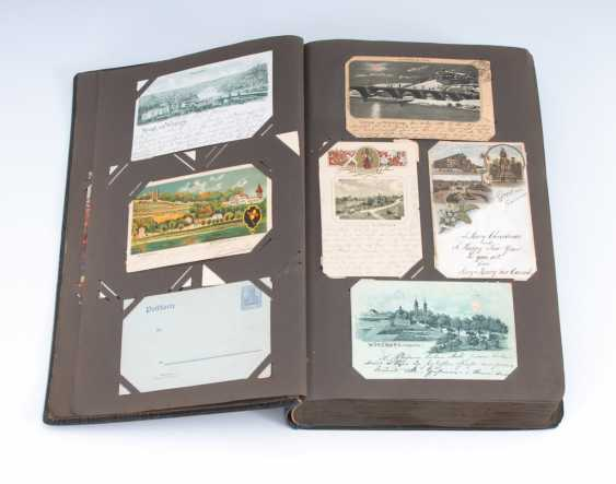 Post card album with approx. 488 cards. - photo 1