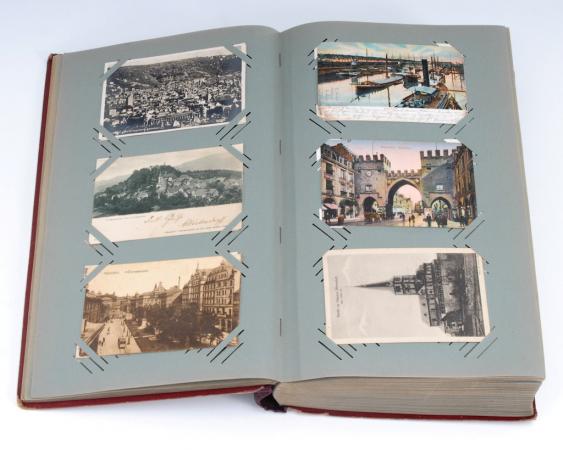 Альбом с открытками 50 годов, днем рождения