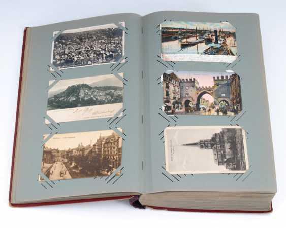 Post card album with approx. 496 Ansichtskar - photo 1