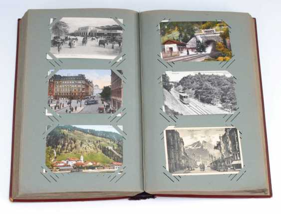 Post card album with approx. 500 cards. - photo 1