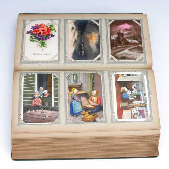Post card album with approx. 504 Ansichtskar - photo 1