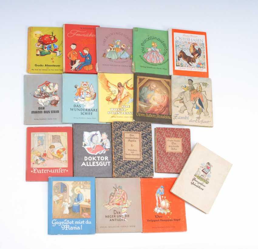 18 kleine Kinderbücher. - Foto 1