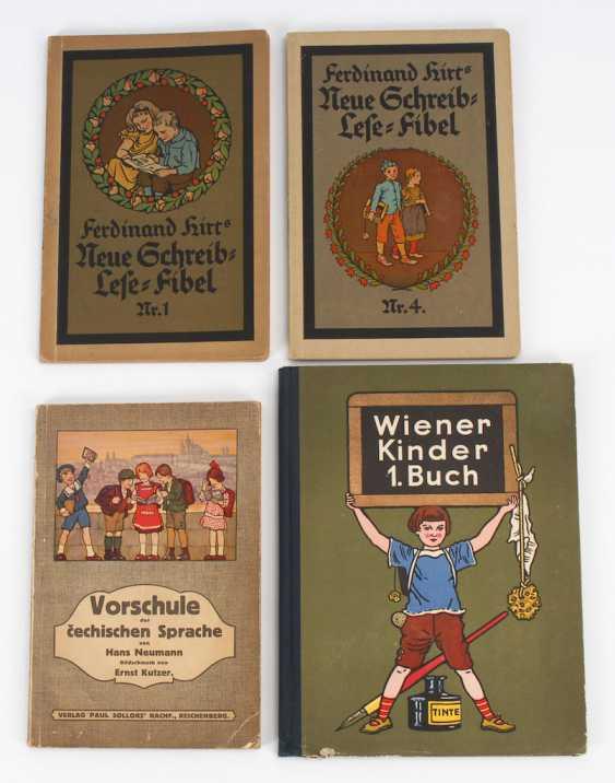 4 school books. - photo 1