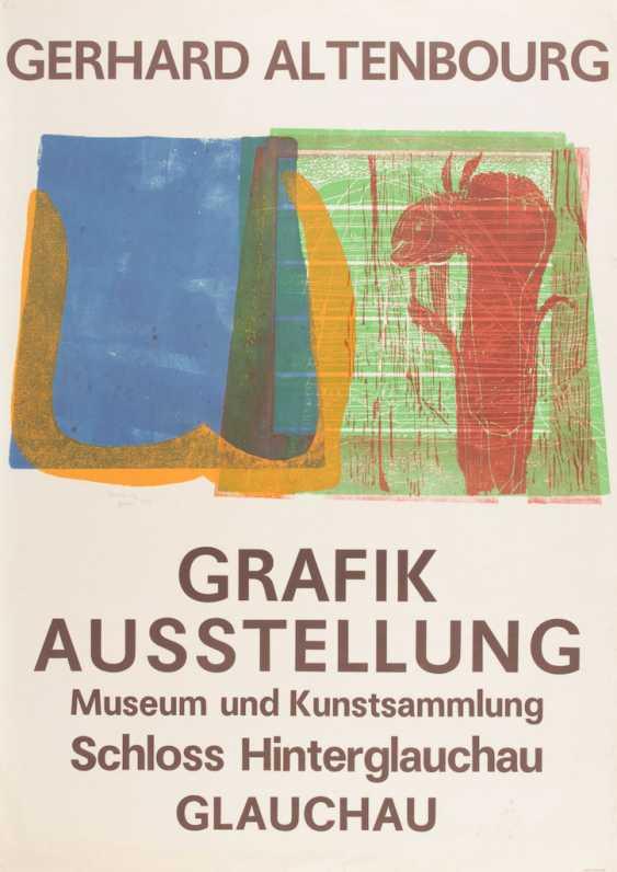 ALTENBOURG, Gerhard: exhibition poster - photo 1