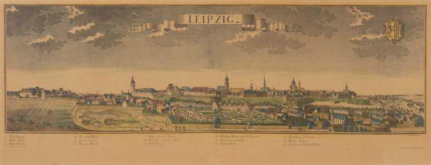 Ansicht Leipzig - Friedrich Bernhard We - Foto 1