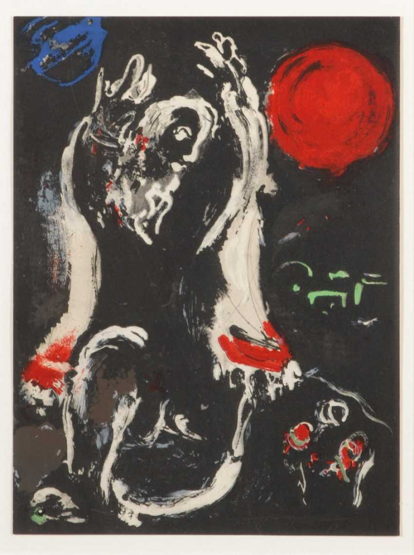 """CHAGALL, Marc: """"Isaie"""". - Foto 1"""
