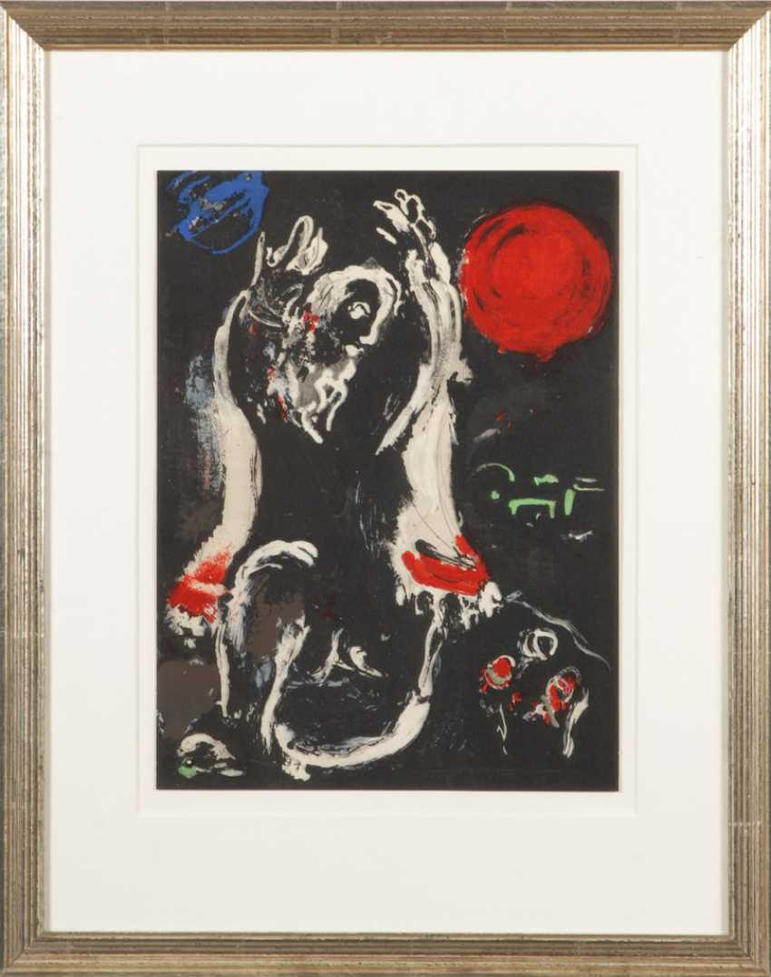 "CHAGALL, Marc: ""Isaie"". - photo 2"