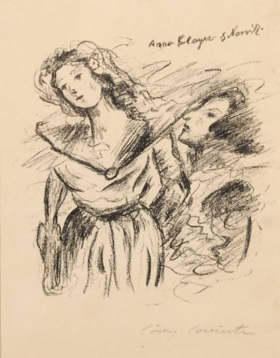 """CORINTH, Lovis: """"Anna Boleyn und Norris - photo 1"""