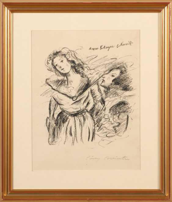 """CORINTH, Lovis: """"Anna Boleyn und Norris - photo 2"""