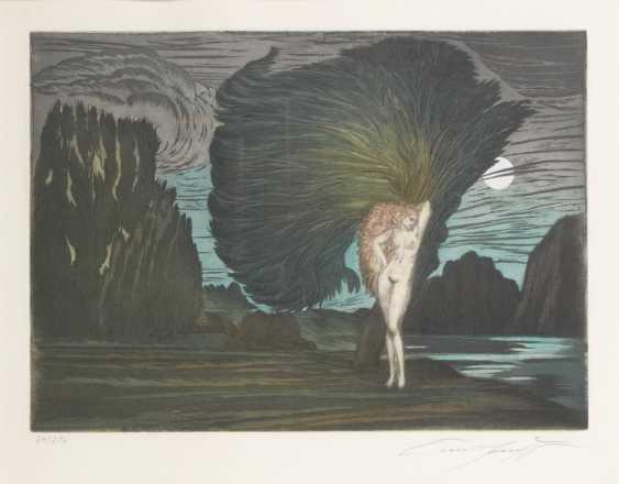 """FUCHS, Ernst: """"Baum der Aphrodite"""". - Foto 1"""