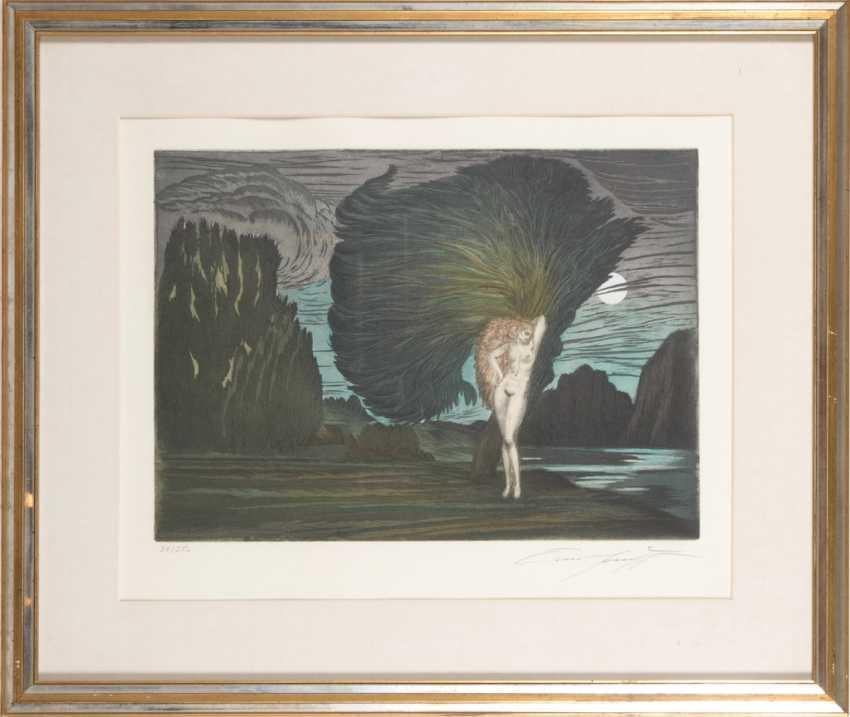"""FUCHS, Ernst: """"Baum der Aphrodite"""". - Foto 2"""