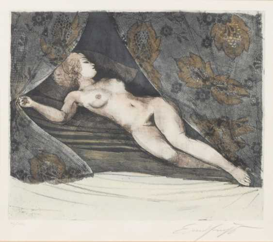 FUCHS, Ernst: Reclining female current - photo 1