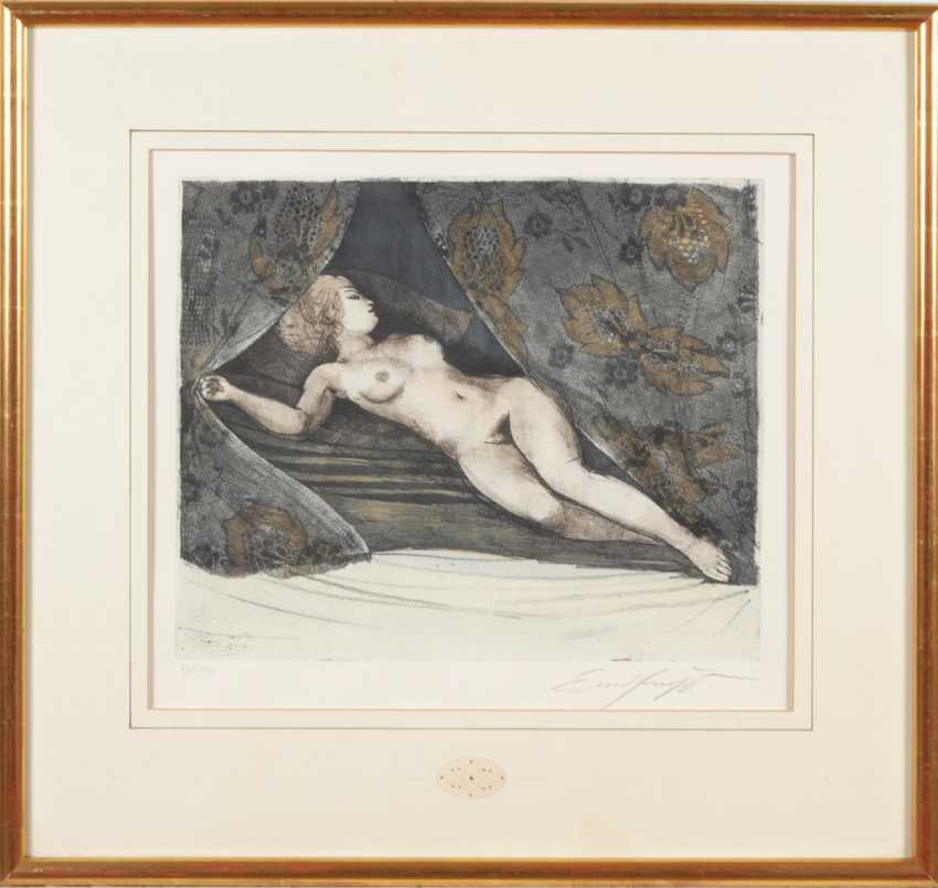 FUCHS, Ernst: Reclining female current - photo 2