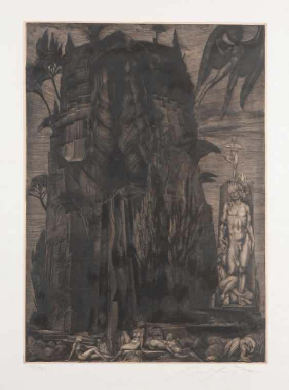 FUCHS, Ernst: Mythological scene. - photo 1