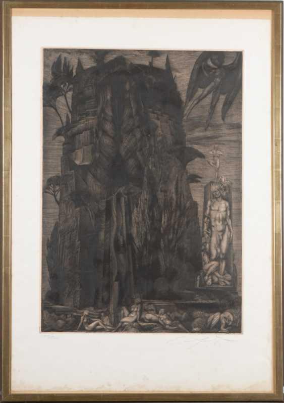 FUCHS, Ernst: Mythological scene. - photo 2