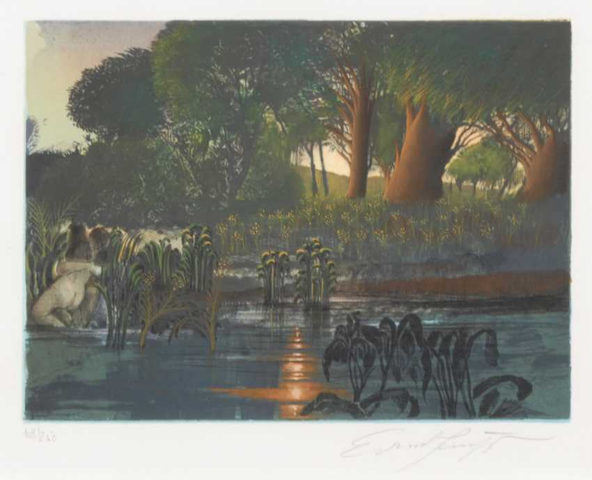 FUCHS, Ernst: the pond. - photo 1