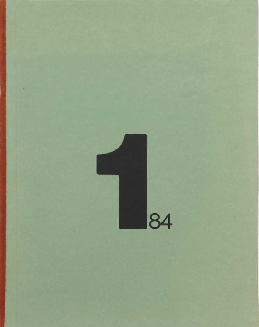 "Grafikmappe ""1/84"". - Foto 1"